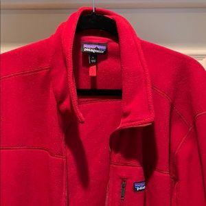 Patagonia Jackets & Coats - Patagonia Fleece Zip up - Red size Large